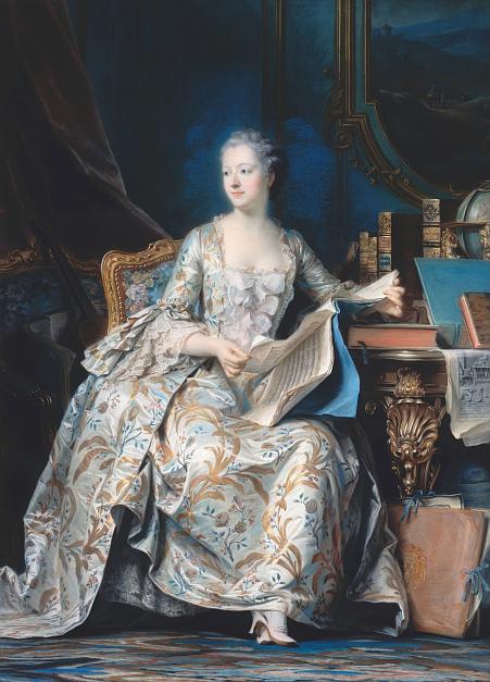 ロココ前期3(1700,1770) , 西洋絵画で見るドレスの歴史